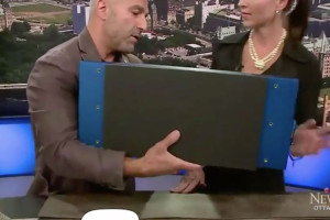 Nakymatone Invisible Speakers on CTV in Ottawa with Ramsin Khachi